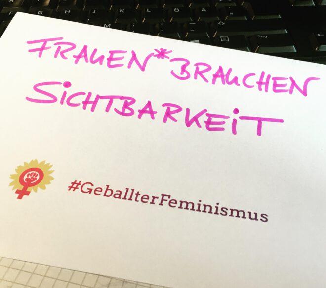geballter Feminismus