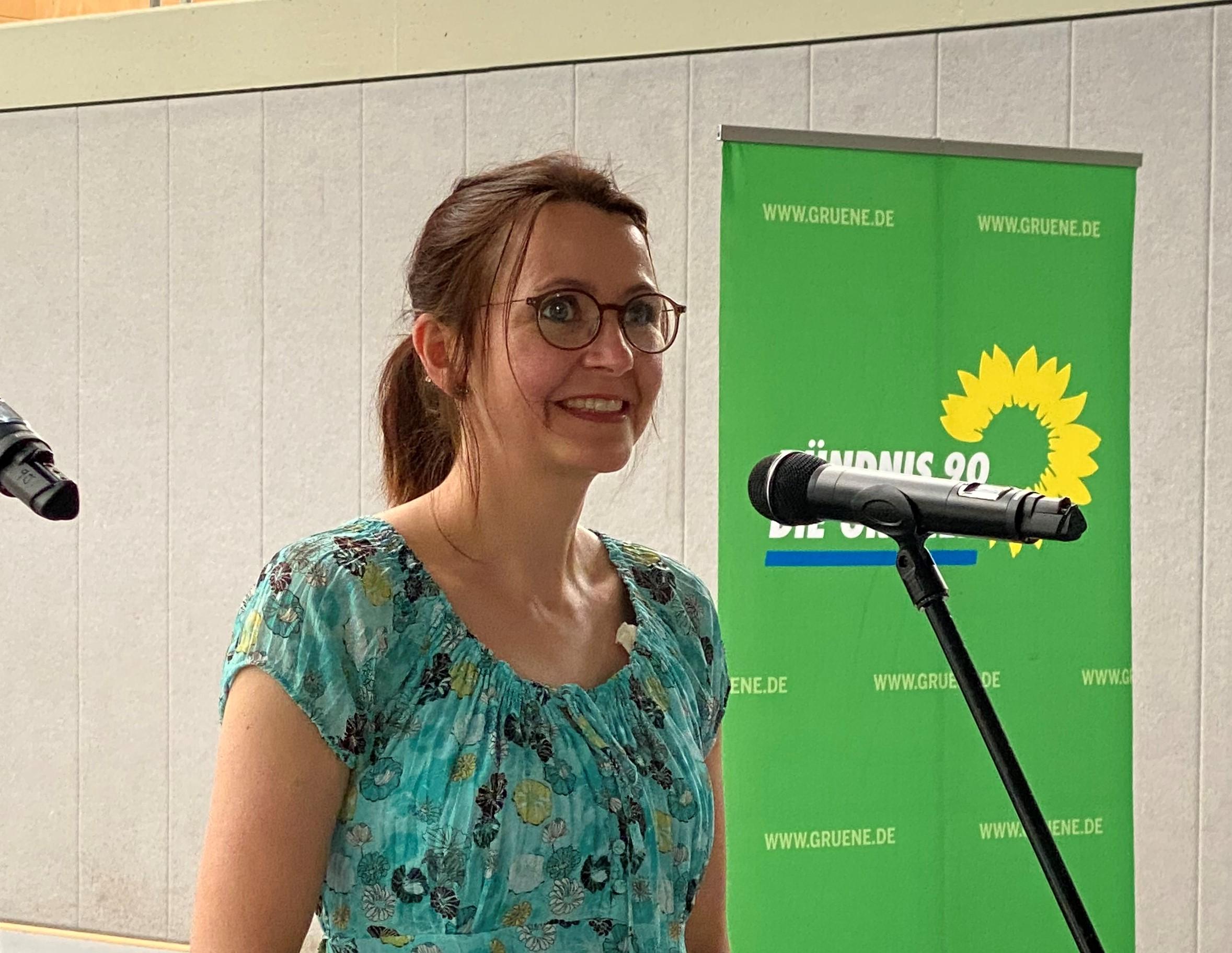 Tanja beim KV CLP